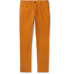 Altea - Slim-Fit Tapered Stretch-Cotton Gabardine Chinos
