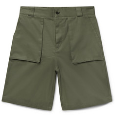 P. Johnson Cotton-Twill Shorts
