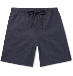 P. Johnson Linen Drawstring Shorts