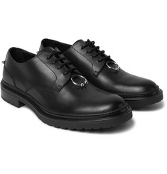 Neil Barrett - Embellished Leather Derby Shoes
