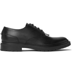 Neil Barrett Embellished Leather Derby Shoes