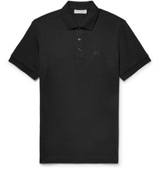 Burberry Slim-Fit Cotton-Piqué Polo Shirt