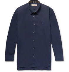 Burberry Slim-Fit Stretch-Cotton Poplin Shirt