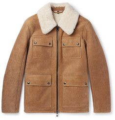 Belstaff Upland Slim-Fit Shearling Jacket