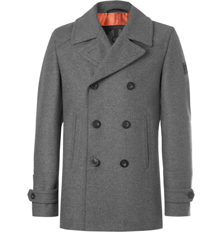 Duran Double-breasted Virgin Wool-blend Overcoat