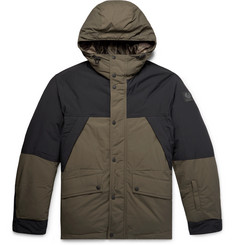 Belstaff + Sophnet Martock Colour-Block Shell Hooded Down Jacket