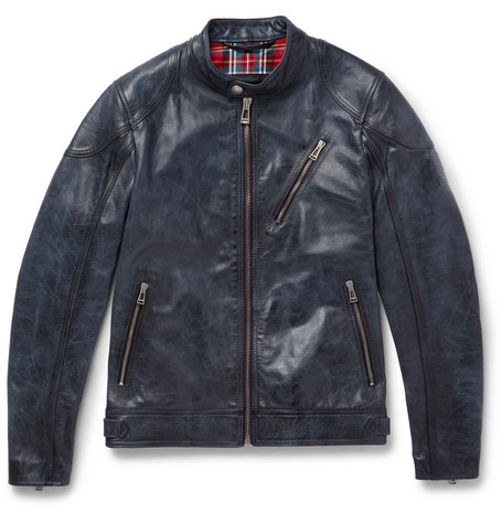 Maxford 3.0 Burnished Leather Jacket by Belstaff