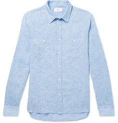 Mr P. - Mélange Linen Shirt