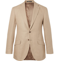 Richard James - Beige Seishin Slim-Fit Linen Suit Jacket
