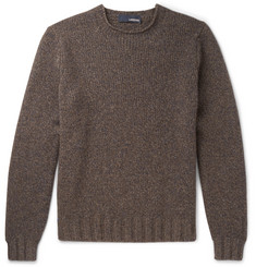 Lardini Mélange Yak and Wool-Blend Sweater