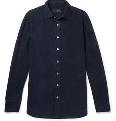 Lardini - Slim-Fit Cotton-Corduroy Shirt