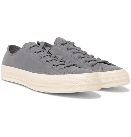 d31508c76b6526 Converse Chuck 70 Nubuck Sneakers In Gray