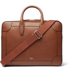 Mulberry - Belgrave Full-Grain Leather Briefcase