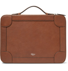 Mulberry Belgrave Pebble-Grain Leather Portfolio