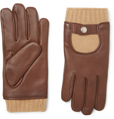 Mulberry Cashmere and Leather Gloves