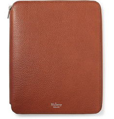 Mulberry - A5 Zip-Around Full-Grain Leather Notebook Cover