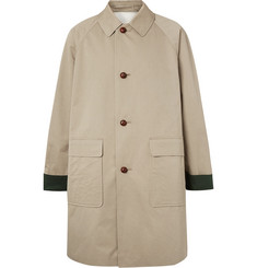 Burberry - Oversized Cotton-Gabardine Coat