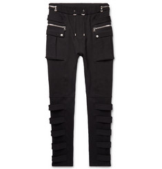 Balmain Skinny-Fit Loopback Cotton-Jersey Sweatpants
