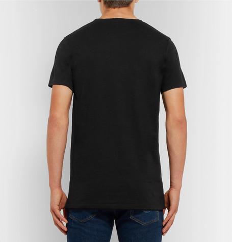 c2e8e0eb0d4 BalmainThree-Pack Slim-Fit Distressed Cotton-Jersey T-Shirts. £310. Tap to  Close. 1. 2. 3. 4. 5. 6. 7. 1