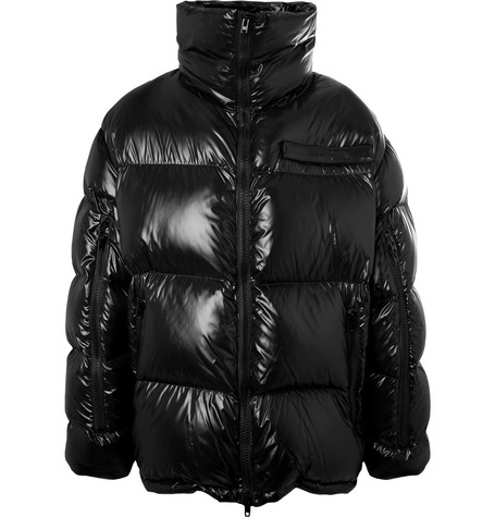 Oversized Quilted Shell Down Jacket by Calvin Klein 205 W39 Nyc