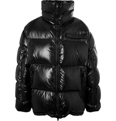 CALVIN KLEIN 205W39NYC Oversized quilted Shell Down Jacket