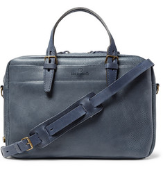 Bleu de Chauffe Full-Grain Leather Briefcase