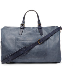 Bleu de Chauffe Full-Grain Leather Holdall