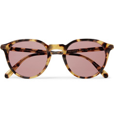 Berluti + Oliver Peoples Rue Marbeuf Round-Frame Acetate Photochromic Sunglasses