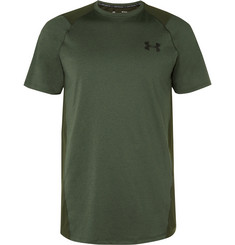 Under Armour - MK-1 Mesh-Panelled Mélange HeatGear T-Shirt