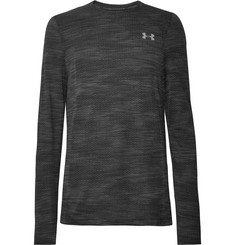 Under Armour - Vanish Seamless Mélange Camouflage-Print HeatGear T-Shirt