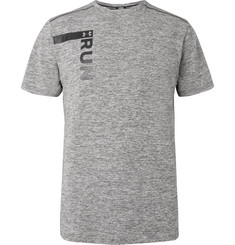Under Armour Printed Mélange Threadborne HeatGear T-Shirt
