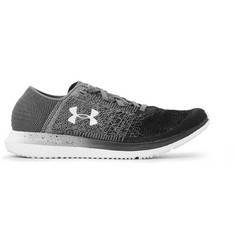 Under Armour Threadborne Blur Stretch-Knit Running Sneakers