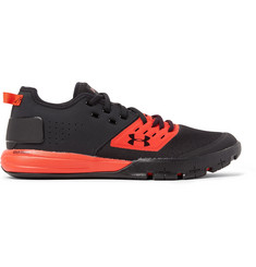 Under Armour Charged Ultimate 3.0 Rubber-Trimmed Mesh Sneakers