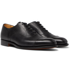 Tricker's - Appleton Cap-Toe Leather Oxford Shoes