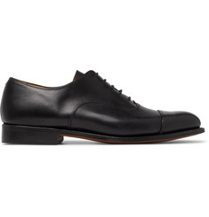 Tricker's Appleton Cap-Toe Leather Oxford Shoes