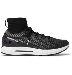 Under Armour Hovr Reactor Stretch-Knit and Mesh Running Sneakers