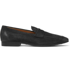 Tod's Oiled-Suede Loafers