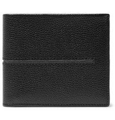 Tod's - Pebble-Grain Leather Billfold Wallet