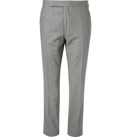 Douglas Wool Flannel Trousers by Ralph Lauren Purple Label
