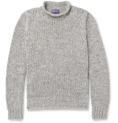 Ralph Lauren Purple Label Mélange Cashmere Sweater