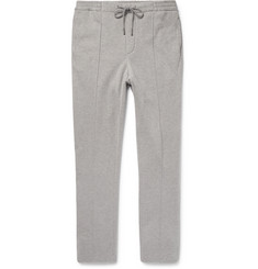 Ralph Lauren Purple Label Slim-Fit Fleece-Back Cotton-Blend Jersey Sweatpants