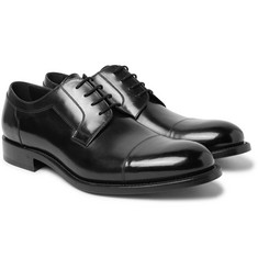 O'Keeffe - Algy Polished-Leather Derby Shoes