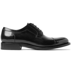 O'Keeffe Algy Polished-Leather Derby Shoes
