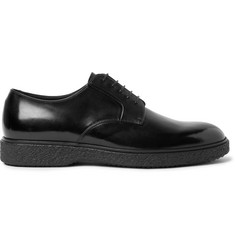 O'Keeffe Ferdia Polished-Leather Derby Shoes