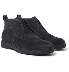 O'Keeffe - Ferdia Shearling-Lined Suede Desert Boots