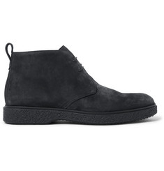 O'Keeffe Ferdia Shearling-Lined Suede Desert Boots
