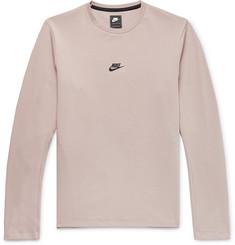 Nike Tech Pack Stretch-Jersey Sweatshirt