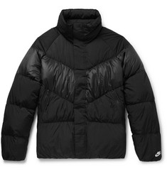 Nike Water-Repellent Quilted Nylon Down Jacket