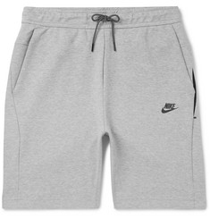 Nike Cotton-Blend Tech Fleece Shorts
