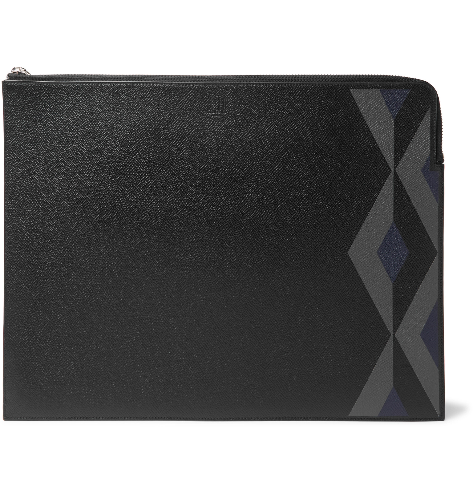 Dunhill Cadogan Printed Full-grain Leather Zip-around Pouch From China Online Perfect Sale Online New Arrival Cheap Price bVDQZ
